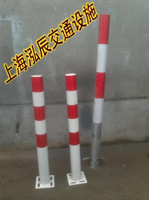 上海防撞隔离桩 防撞柱 钢管封盖 隔离柱 防撞护栏 封口盖